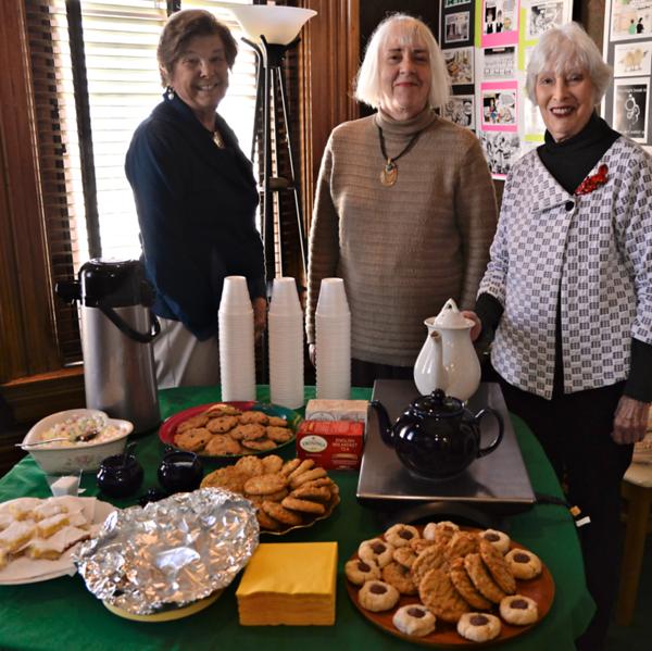Museum Volunteers Provide Hospitality