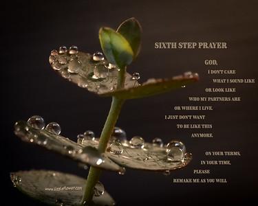 Sixth Step Prayer