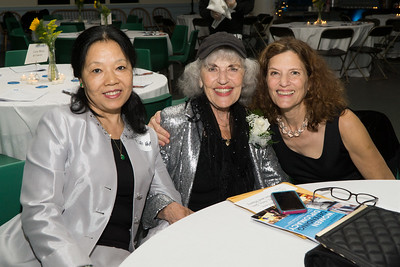 Well that's one the evening's honorees! Judy Lerner (center) with friends.