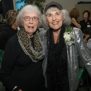 Honoree Judy Lerner (right) with a friend.