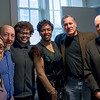 The Brooklyn For Peace PEJ delegation poses with Congress member Yvette Clarke (center) after our discussion.