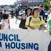 Ava Farkss, Chair of Metropolitan Council On Housing, aong with others from that great NYC tenants organization.