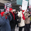 "After the press conference people marched to Post Office at Restoration Plaza on Fulton Street to ""present,"" via mail, over 500 letter to the NYS Health Commissioner. The letters requested that the Commissioner answer questions regarding the future of Interfaith Medical Center -- answers that have been kept hidden from the public."