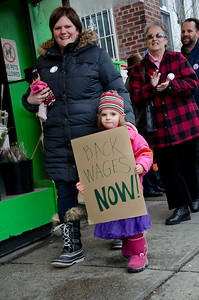 Young and old marched for fairness and justice.