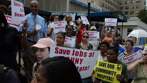 Downstate Workers Fight Back Against Cuts and Layoffs