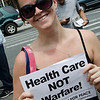Melissa Corbett of Brooklyn For Peace joined other BFPers in expressing their support.