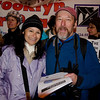 Sam and friend, Maria, at the Day of Action marking the 2nd month birthday of Occupy Wall Street. Foley Square, New York November 17, 2011