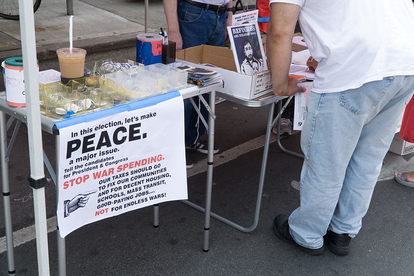 Peace And Pride—Our BFP Table At The Brooklyn PRIDE  Fair