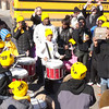 Press PLAY ► (above) to see a short video.<br /> <br /> A youthful drummers group plays to keep the hospital center funded and functioning to serve the community.
