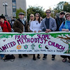 A co-sponsor of the day's event: the Park Slope United Methodist Church (Social Action Committee).