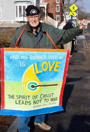 18.12.22 Advent Peace Vigil for Disarmament at GD/BIW in Bath
