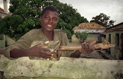 Guitar Player, Angola, 1995