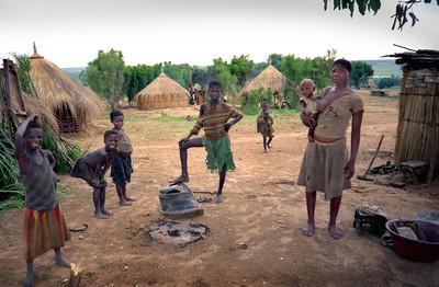 Village, Angola 1995