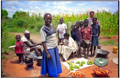 Merchants, Angola, 1995