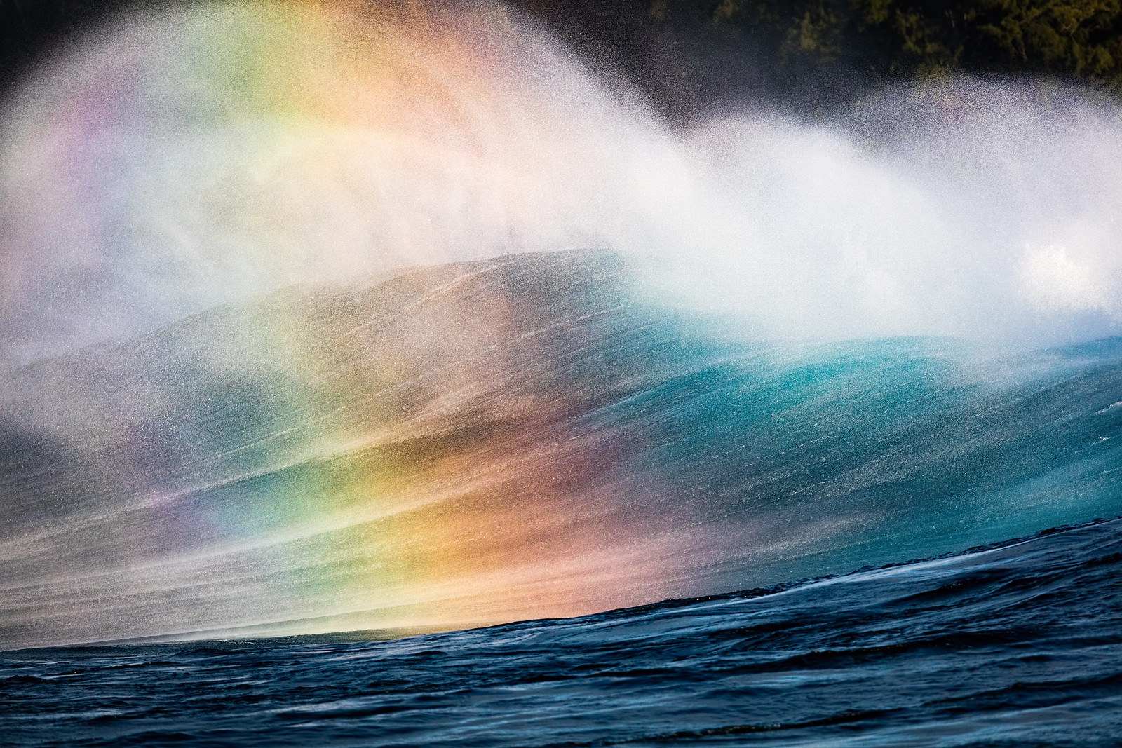 Backside Rainbow