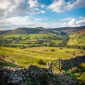 Edale and Kinder Scout