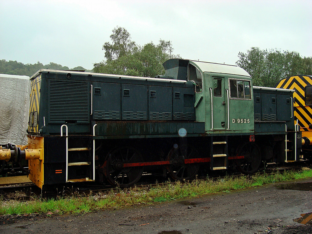 BR D9525 Sdn 0-6-0DH 09,08,2008