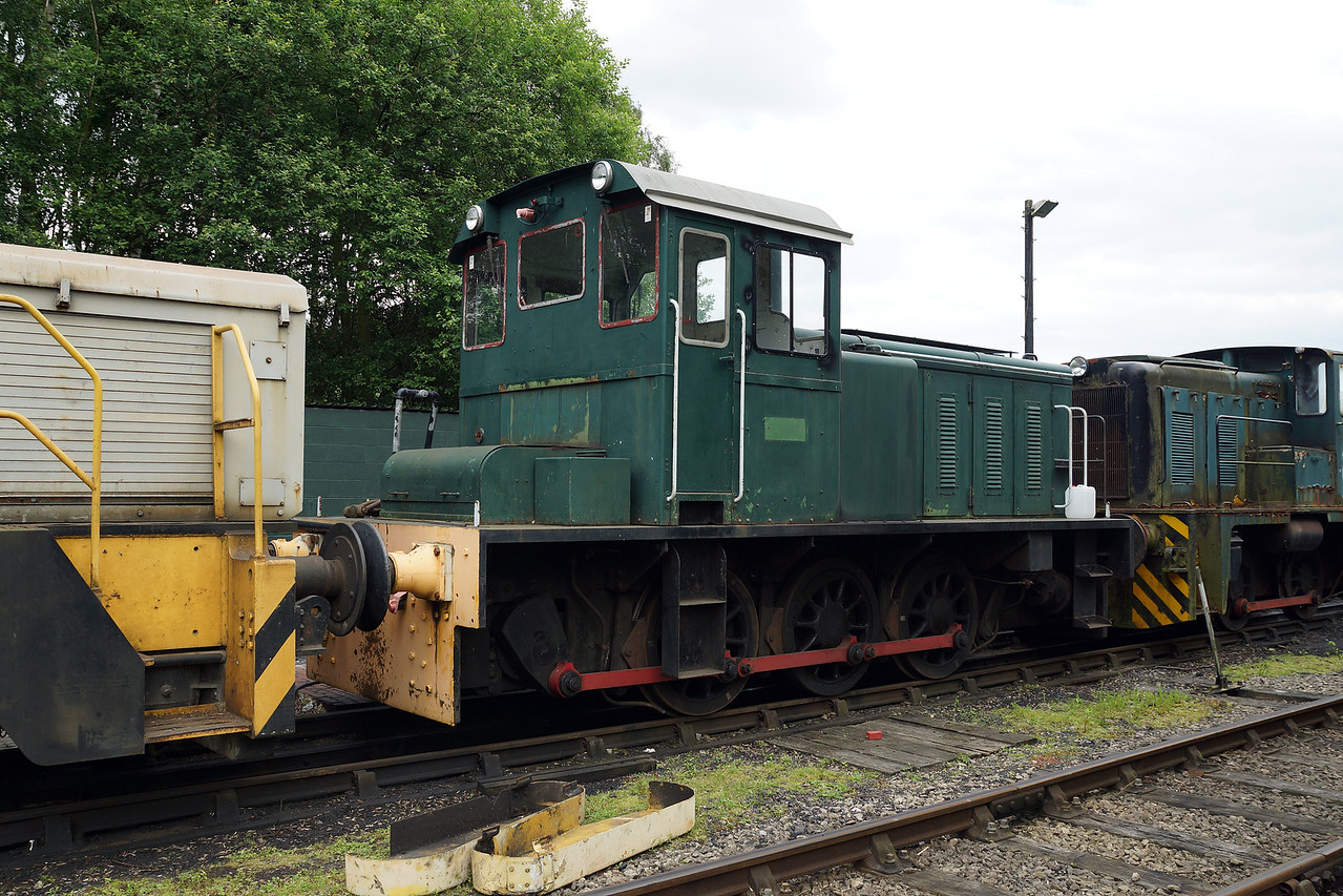 SH D1186 Bill Caddick HE 0-6-0DH 21,06,2014  (From Pontypool& Blaenavon)