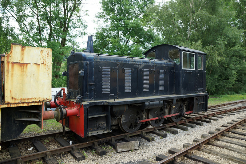 BR D2279 RSHD 0-6-0DM (From East Anglian Railway) 21,06,2014