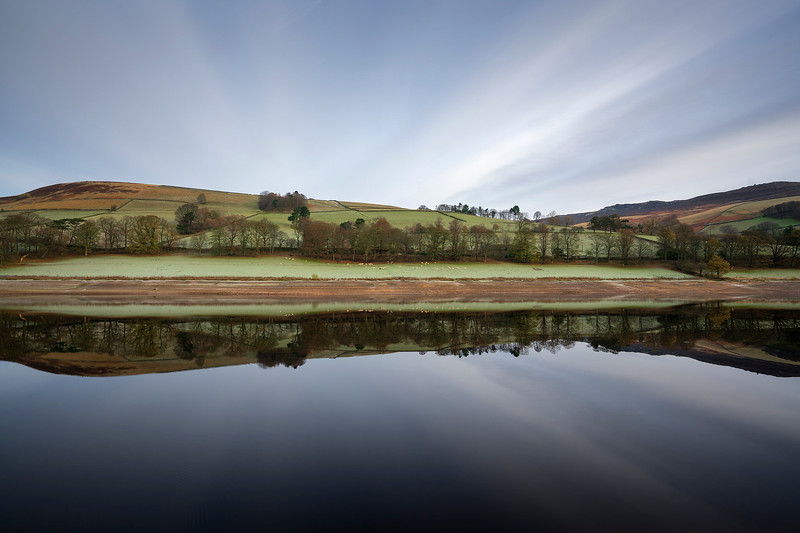 Ladybower Reflection - Peak District National Park