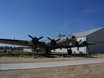 B-17G March Air Museum