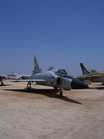 F-102A #56-1114 March Air Museum