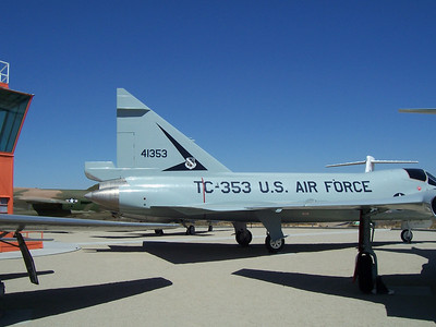 TF-102 Edwards AFB