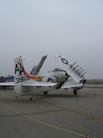 AD-1 Skyraider Chino Airshow 2007