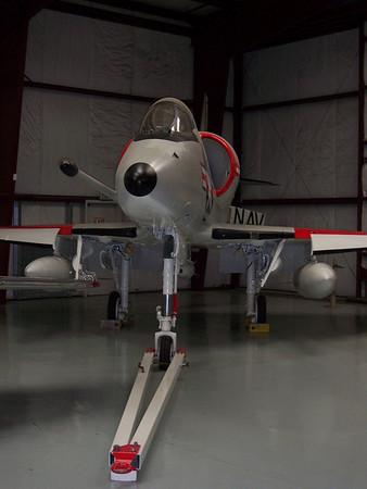 Yanks Air Museum A-4 Skyhawk