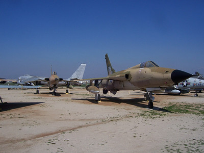 F-105B & F-105D at March Air Museum