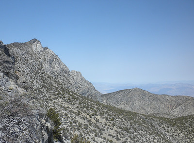 Pleasant Peak, Inyos, and Onion Valley, Sierras