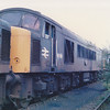 45001 in the Toton scrapline on 13th July 1986
