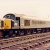 45016 in the Goole scrapline on 29th August 1986