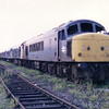 45010 heads the Toton Scrapline on 13th July 1986