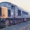 45004 sits amongst others in the Toton scrapline on 13th July 1986