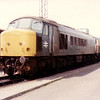 45005 sits on the long gone Severn Tunnel Junction shed on 12th May 1984