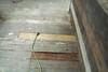 """Rotten floor """"repaired""""..."""