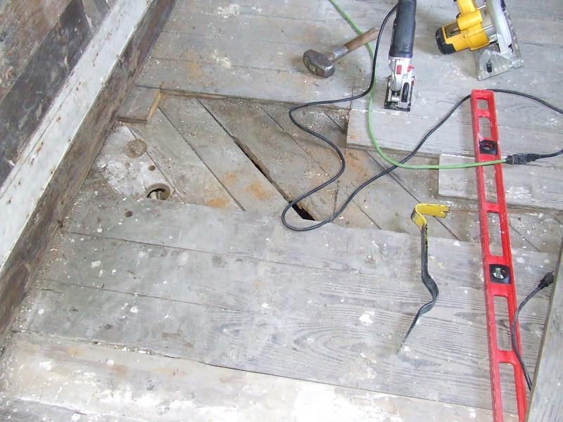 Really rotten floor