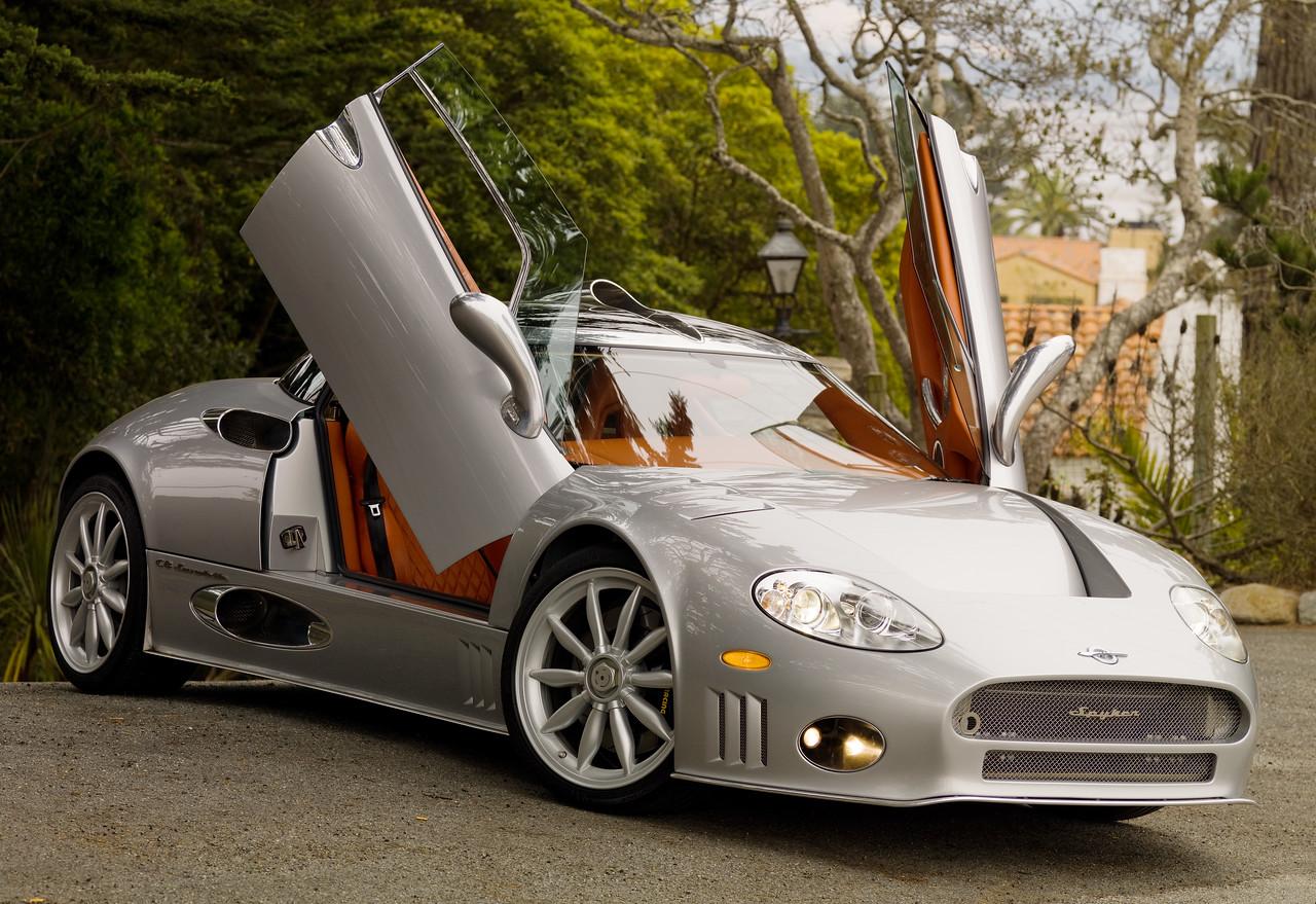 Silver Spyker C8