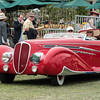 1936 Lancia Astura - the winner of the grand prize.