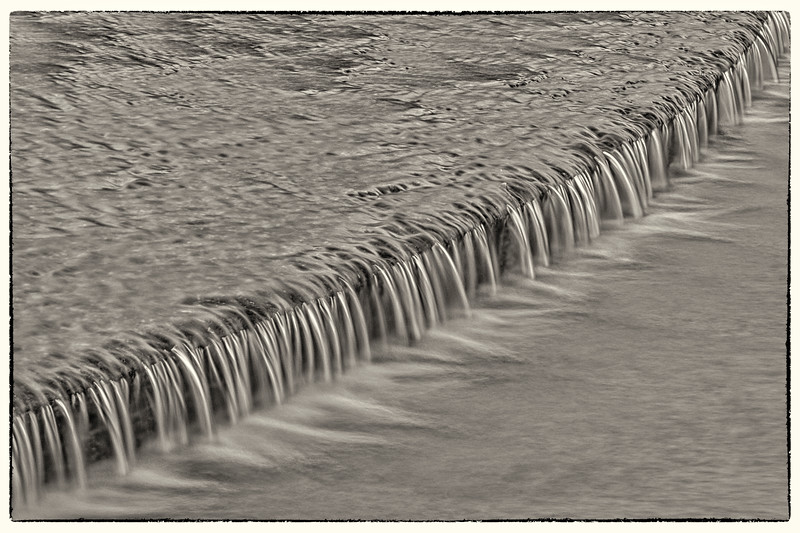 Waterfall - Hermann Park Reflective Pool, Houston, TX