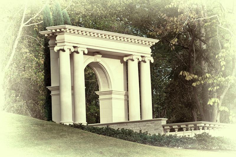 """Morian Gateway"" - Glenwood Cemetery, Houston, TX"