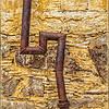 """Rusty Pipe"" - Brewster Co. Consoladated Mercury Mine, Stude Butte, TX"