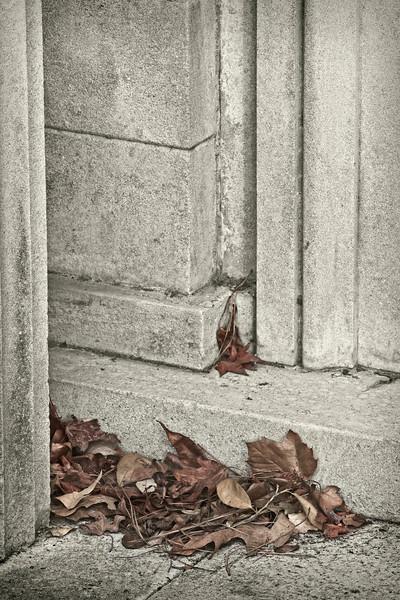 """""""Next Spring"""" - Mausoleum Door Sill - Glenwood Cemetery, Houston, TX"""
