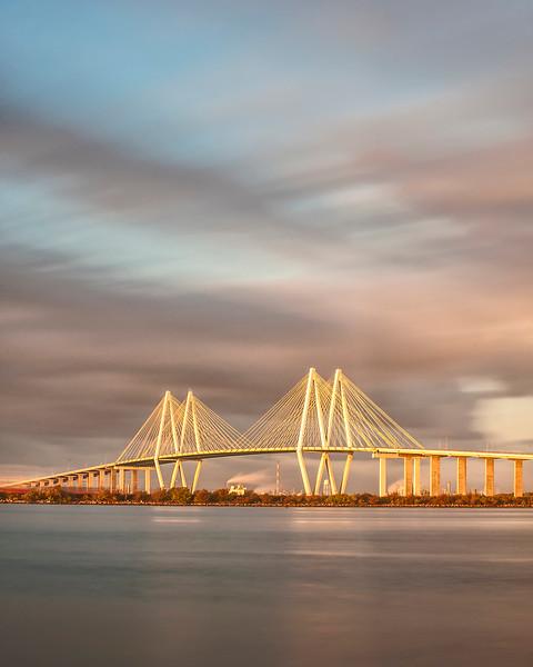 The Fred Hartman Bridge - Baytown, TX