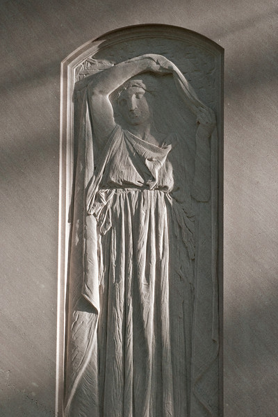 """Lifting the Aidoneusian Veil"" - Glenwood Cemetery, Houston, TX"