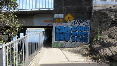 Canterbury Road underpass.