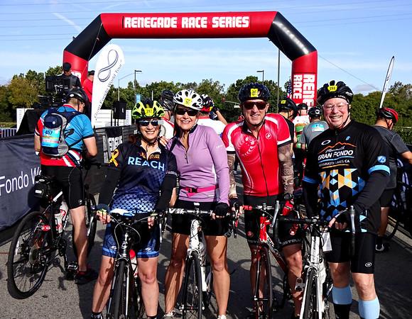 Pediatric Cancer Research Foundation Saddleback Gran Fondo Charity Cycle Ride, Irvine CA March 24, 2018