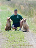 Chris and his pups...
