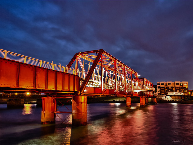 Pedestrian Bridge 40w x 30h - Color